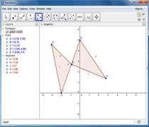 نرم افزار ترسیم اشکال هندسی geogebra 5.0.56.0