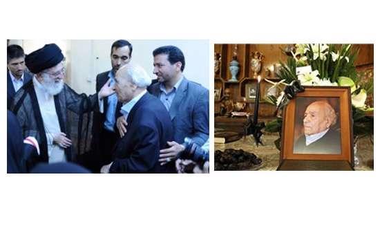درگذشت مرحوم مشفق کاشانی