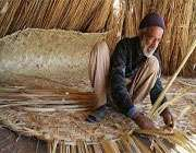 плетение циновка