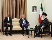 l'ayatollãh khãmenei a reçu le premier ministre irakien et sa délégation à téhéran