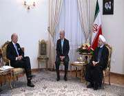 president rouhani & french foreign minister laurent fabius
