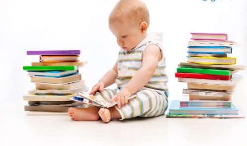 کتاب خوانی بچه ها