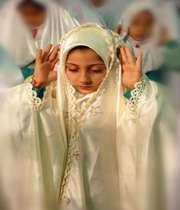 نماز خواندن فرزندان