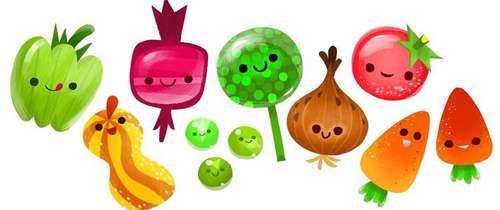 نقاشی سبد سیب غذای سالم چیست؟