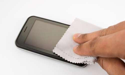 تمیز کردن موبایل