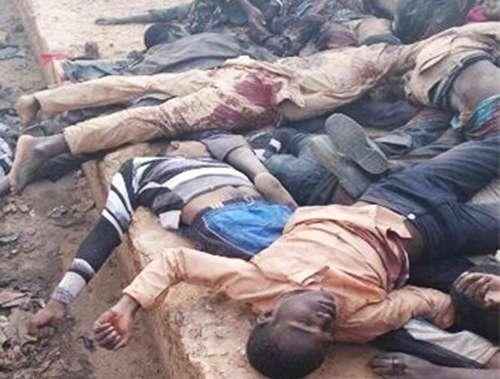 کشتار مردم نیجریه