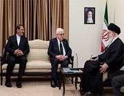 le guide suprême a reçu le président irakien, fouad massoum