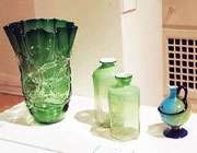 des objets en verre