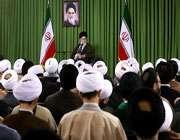 audience aux membres de l'assemblée des représentants des étudiants en sciences islamiques de qom