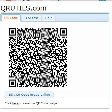 چگونه برای متن و لینک ها کد qr ایجاد کنیم؟