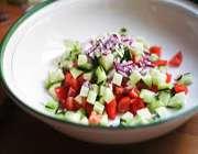 салат ширази и свойство его