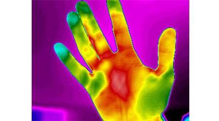 تشخیص سرما و گرما با حس لامسه