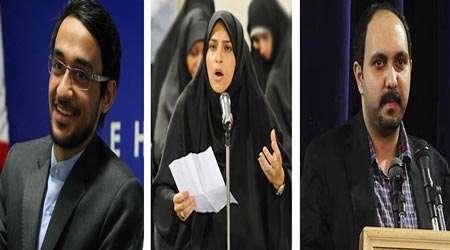 سینا علی محمدی، حسنا محمد زاده، سجاد سامانی