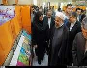 президент рухани открыл тегеранскую международную книжную выставку