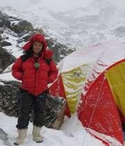 иранская альпинистка покорила пятый пик мира