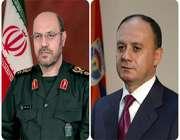 встерча министров обороны ирана и армении в москве