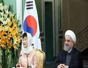 пресс-конференция президентов ири и южной кореи