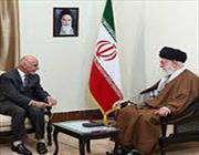президент афганистана и сопровождающая его делегация встретились с лидером исламской революции