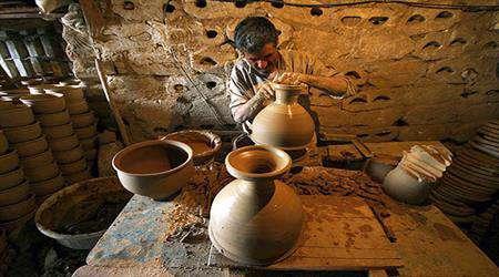 iran'ın seramik ve çömlekçilik