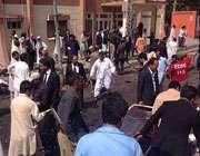 کوئٹہ سول اسپتال میں بم دھماکہ