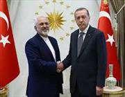 зариф и эрдоган обсудили вопросы развития взаимоотношений между ираном и турцией