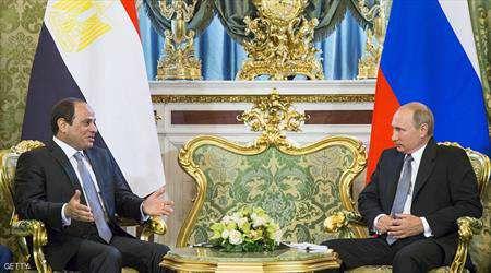 السيسي وبوتن يبحثان إعادة السياحة الروسية إلى مصر