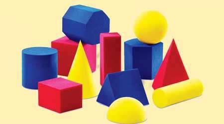 بازی با اشکال هندسی