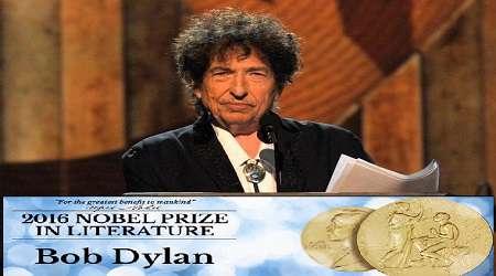 نوبل ادبیات در دستان «باب دیلن»