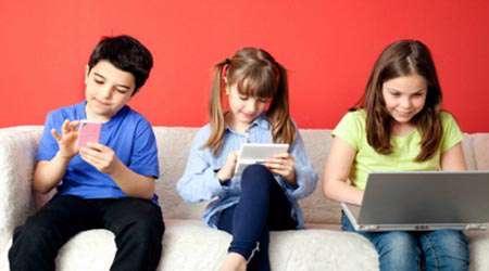 اینترنت،کودکان