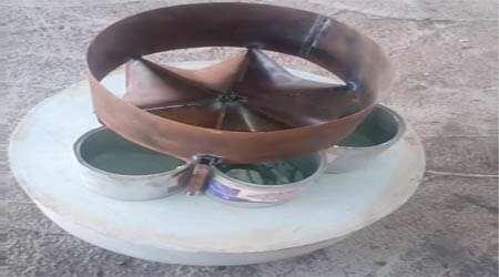 طراحی سطل زباله خلاقانه دستاورد برتر دبستان نور علوی