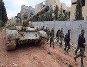 сирийская армия возобновила атаки на позиции террористических группировок