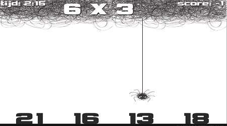 بازی ضرب عنکبوت