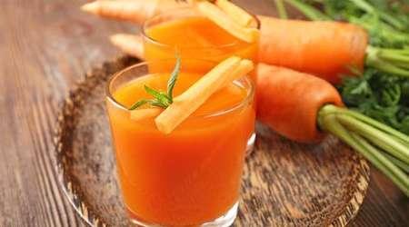 هویج و آب آن