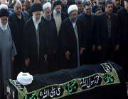 ayatollah rafsanjani laid to rest in imam khomeini's shrine