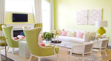 انتخاب رنگ برای دکوراسیون منزل تان