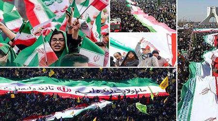 arap medyasına 22 behmen yürüyüşü