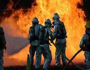 اخماد حريق نشب في مخزن نفطي بمصفاة جنوب طهران