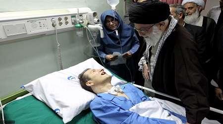 پيام رهبرانقلاب در پي درگذشت مرحوم احمد عزیزی