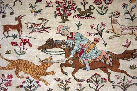 نقش شکار در هنرهای اسلامی