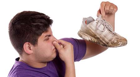 بوی عرق پا