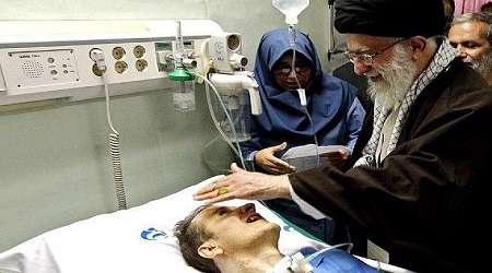 قدردانی خانواده مرحوم «احمد عزیزی» از حمایتهای رهبر معظم انقلاب