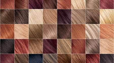 دستورالعمل انواع رنگ مو با مواد طبیعی