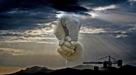 دست خدا