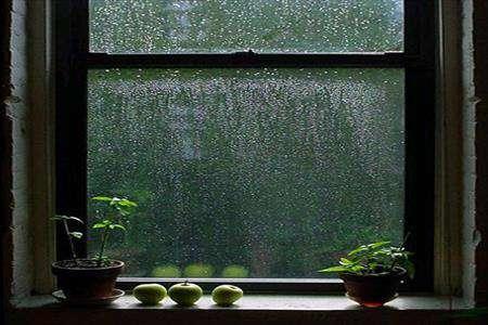 پنجره، باران، ظهور