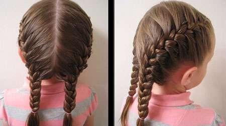 مدل موی بچگانه