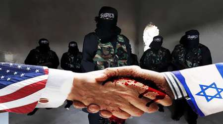 داعش ، امریکا، اسرائیل