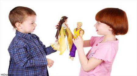 بازیهای جنسی در کودکان
