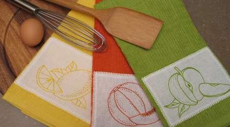 دستمال و حوله آشپزخانه