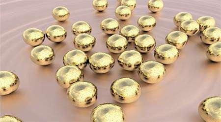 ترکیب نانوذرات طلا و پروتئین برای شناسایی ویروس
