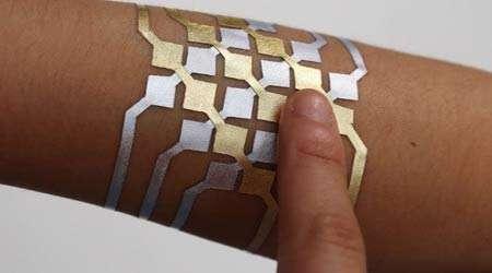 نگاهی به آینده مدارهای الکترونیک که روی پوست چاپ میشوند